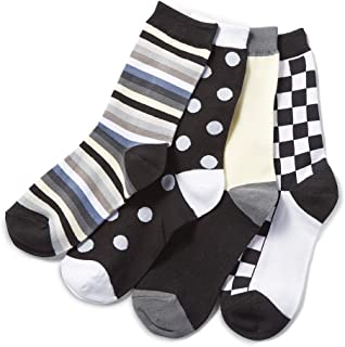 Mismatch Two by Four Socks