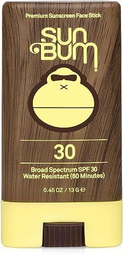 Sun Bum Original Sunscreen Face Stick, Broad Spectrum SPF 30, .45 Oz