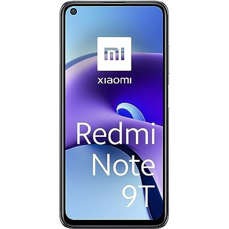 """Xiaomi Redmi Note 9T 5G Smartphone, 4GB+64GB, 6,53"""" FHD+ DotDisplay 90 Hz, MediaTek Dimensity 800U, 48MP Triple Camera, 5000mAh, NFC, Nightfall Black"""