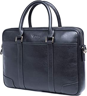 VOLITION Bag For Men,Dark Blue - Briefcases