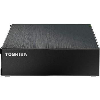 東芝 CanvioDesktop 2TB USB3.2(Gen1)対応 外付けHDD テレビ録画/PC対応 バッファローサポート 国内メーカー 静音 故障予測 HD-TDA2U3-B/N