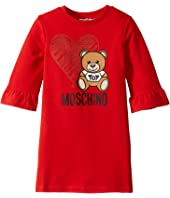 Moschino Kids - Dress w/ Heart Toy Bear (Little Kids/Big Kids)