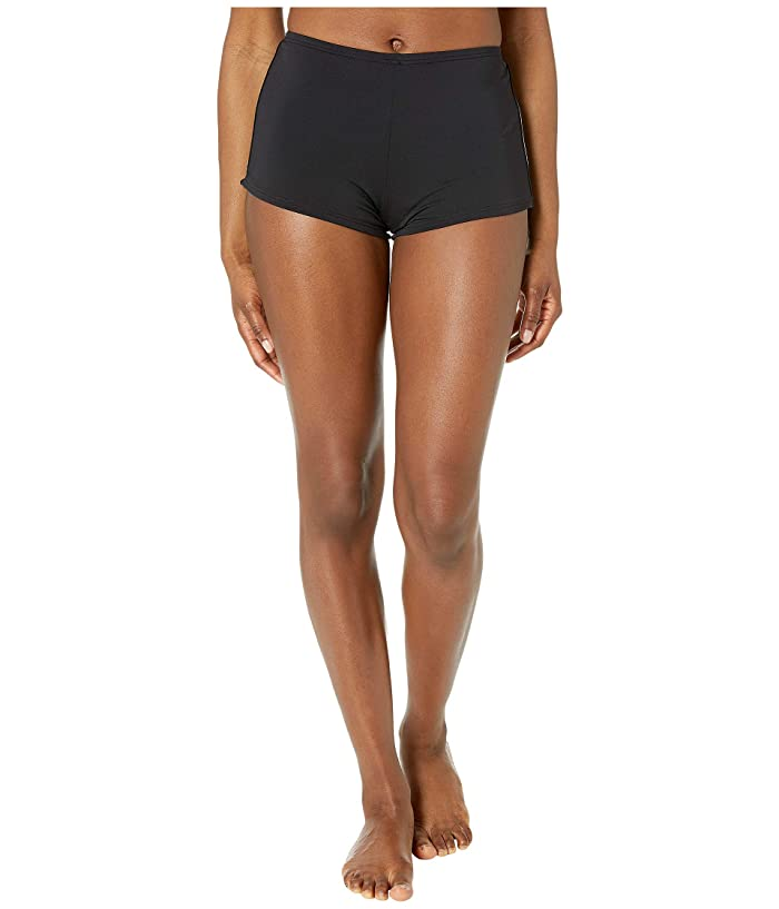 MICHAEL Michael Kors Side Logo Tape Bottoms (Black) Women