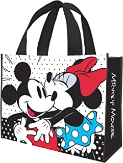 Disney Mickey & Minnie Large Recycled Shopper Tote 89073, Disney Minnie & Mickey