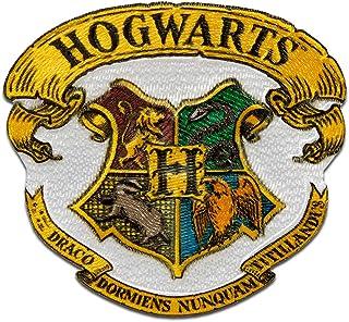 Harry Potter © Hogwarts Crest - Parches termoadhesivos bordados aplique para ropa