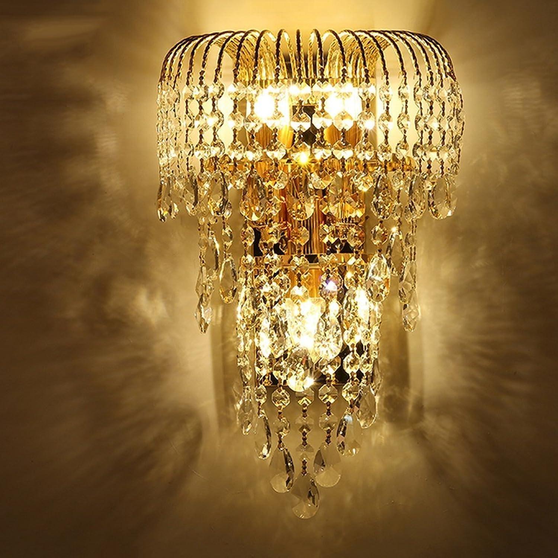 MoMo Luxus K9 Kristall Wandleuchte LED Gold Wohnzimmer Schlafzimmer Nacht Esszimmer Wandleuchte Europischen Beleuchtung