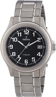 Reloj Analógico para Hombre de Cuarzo con Correa en Titanio 10835512