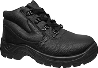 Warrior Mens Steel Toe Chukka Boots
