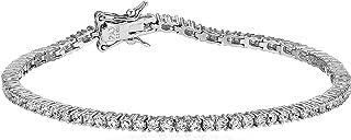 Best silver tennis bracelet Reviews