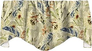 "Kitchen Valances Living Room Valance Curtains Window Treatments Made w/ Tommy Bahama Fabric 53""x 18"""