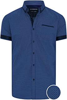 Connor Men's Hudson Shirt Short Sleeve Classic Tops Sizes XS-3XL Affordable Quality with Great Value