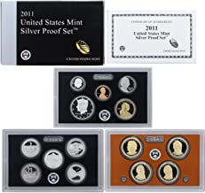2011 S US Mint Silver Proof Gem Deep Cameo