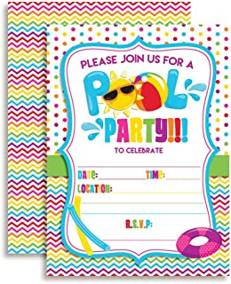Best last day of school pool party invitations Reviews