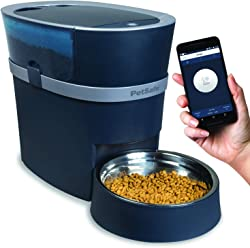 PetSafe Smart Feed Automatic Dog Feeder - Smartphone - Wi-Fi Enabled for iPhone and Android Smartphones