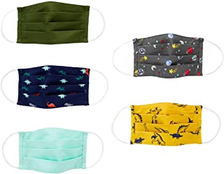 Simple Joys Carter's Kids' 5-Pack Face Masks