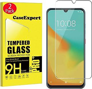 CaseExpert 2-pack - ZTE Blade V10 Vita härdat glas, härdat glas kristall klart skärmskydd skydd & poleringstyg för ZTE Bla...