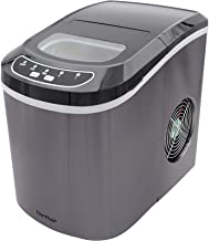 Northair Stainless Steel Portable Countertop Ice Maker with 26 lb. Daily Capacity - Black