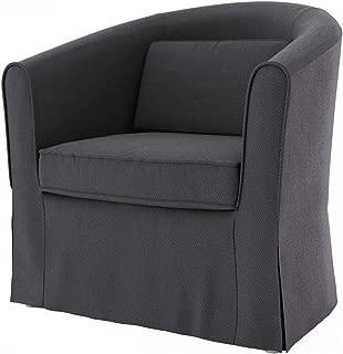 Black Temptation Housse daccoudoir de Chaise de Bureau Coussin daccoudoir de Chaise Y5 avec Sangle 40x11cm