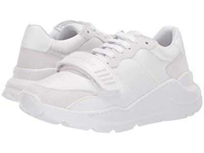Burberry Regis Low (Optic White) Women