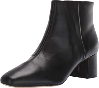 CLARKS Womens Sheer Flora Boot, Black Leather, Size 9.5