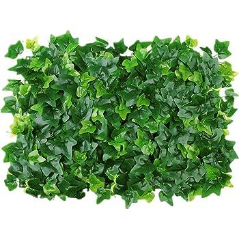 No Logo 60 * 40 cm Falso Artificial Pared Vertical de la Hierba Verde de la Planta de decoración Fondo de la Pared de la Hierba del jardín de Plantas Tienda para