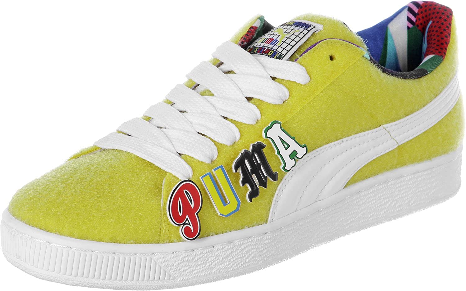 PUMA Comhommeder X Dee & Ricky CR Hommes paniers Jaune 360 084 01, Taille 45