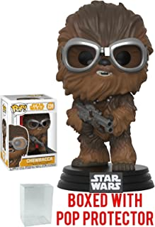 Funko Pop! Star Wars: Solo - Chewbacca Vinyl Figure (Bundled with Pop Box Protector Case)