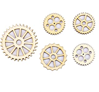 large wooden gears