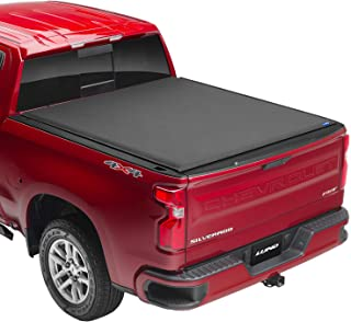 """Lund Genesis Elite Roll Up, Soft Roll Up Truck Bed Tonneau Cover   96864   Fits 2009 - 2018, 19/20 Classic Dodge Ram 1500 6' 4"""" Bed"""