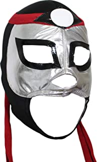 Octagon Lycra Lucha Libre Luchador Mask Adult Size Grey