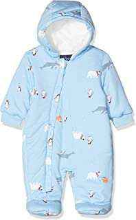 Joules Outerwear Baby-Boys 205471 Snug Down Alternative Jacket - Blue