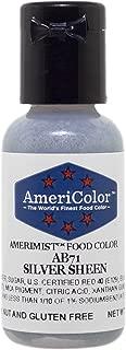 AmeriColor Amerimist Airbrush Color .65 Ounce, Silver Metallic Sheen