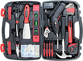 Toolbox Set with Tools for Women Included Cordless...