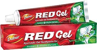 معجون اسنان جل احمر من دابور، 150 غرام