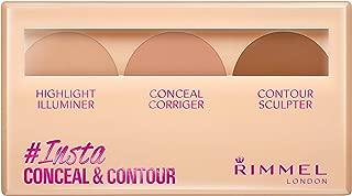 Rimmel London, Insta Conceal & Contour Palette, Shade 020, Medium