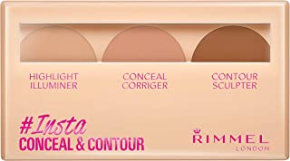 Rimmel London Insta Conceal and Contour Palette,  Medium  Nr. 020, 7 g