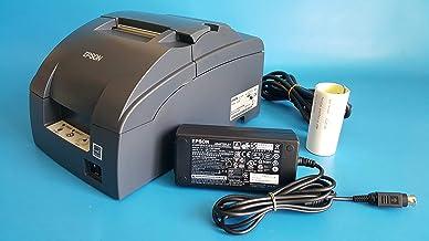Epson C31C514767 Epson, TM-U220B, Dot Matrix Receipt Printer, Ethernet (E04), Epson Dark Gray, Auto Cutter, Power Supply I...