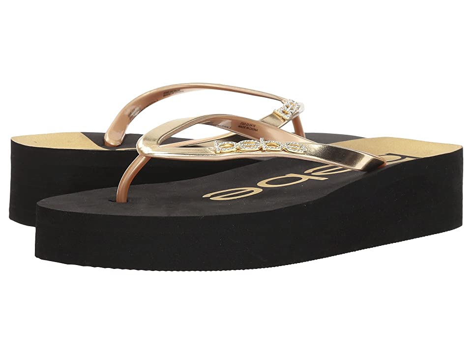 Bebe Jeanie (Black/Gold) Women