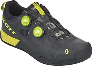 MTB AR Boa Clip Cycling Shoe - Men's Black/Sulphur Yellow, 44.0