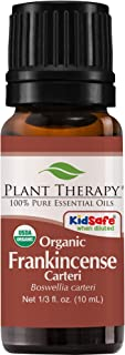 Plant Therapy Frankincense Carteri Organic Essential Oil 100% Pure, USDA Certified Organic, Undiluted, Natural Aromatherap...