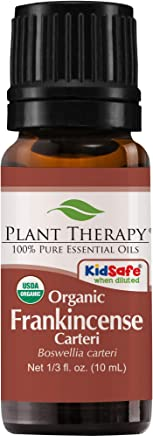 Plant Therapy Organic Essential Oil- Frankincense Carteri for Unisex - 0.33 oz, 90.72 grams