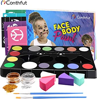 Conthfut Easter Face Painting Set 14 Colors