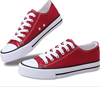 Women's Canvas Shoes Low Top Fashion Sneakers Slip on...