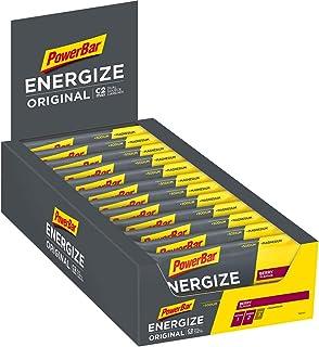 PowerBar Energize Original Berry 25 x 55 g – High Carb Energize + C2MAX magnesium och natrium