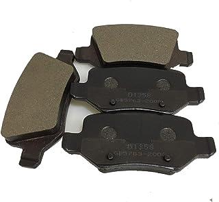 دواسات فرامل خزفية لسيارة مرسيدس بنز W168 A160 A190 W169 A150 A170 A180 A200 D1358