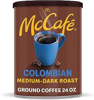 McCafé Colombian, Medium-Dark Roast Ground Coffee, 24 oz Canister