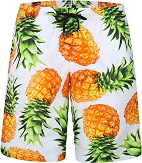Mens Swim Trunks Quick Dry Suits Summer Holiday Beach Shorts