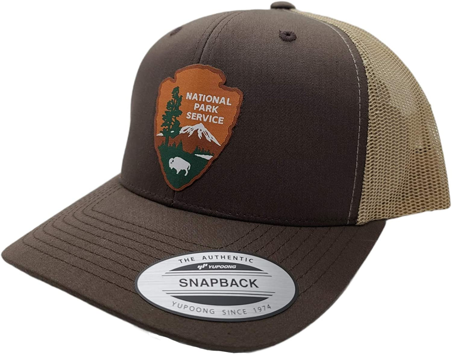 National Park Service Mens Snapback Trucker with HAT Max 56% OFF MESH Max 41% OFF Woven