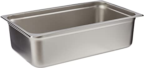 Winco Anti-Jamming Steam Pan, Full-Size x 6-Inch