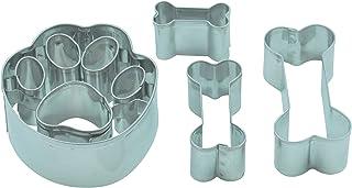 Set d'emporte-pièces en forme d'os et de patte de chien